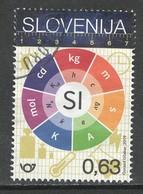 Sloveniê 2019, Yv  1137,  Gestempeld - Slovénie