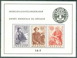 1960 International Year Of The Refugees,Belgium,Bl.25,CV=75,0EUR=ca.$90,MNH - Refugees