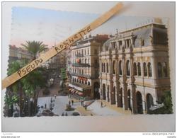 ALGERIE / ALGER La Place De La République Et L'opera (1956) - Algiers
