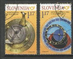 Sloveniê 2019, Yv  1139-40,  Reeks, Gestempeld - Slovénie