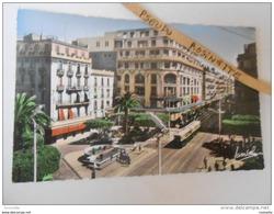 ALGERIE / ALGER  Fontaine Lumineuse ** Arrivée Du Tram - Algiers