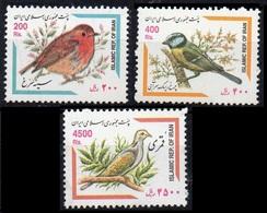 2002Iran2883-2885Birds16,00 € - Colibris