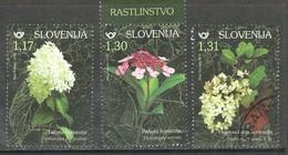 Sloveniê 2019, Yv  1143-45, Reeks,  Hoge Waarde, ,  Gestempeld - Slovénie