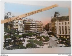 ALGERIE / ALGER   Hotel Des Postes Et Boulevard LAFERRIERE -( Voyagée 1954) - Algiers