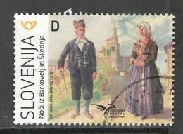 Sloveniê 2019, Yv  1155, Hoge Waarde,  Gestempeld - Slovénie