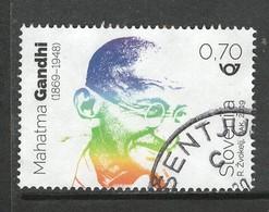 Sloveniê 2019, Yv  1157, Ghandi,,  Gestempeld - Slovénie