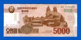 North Korea 1 Billets  5000won - Korea, Noord