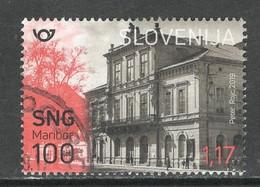 Sloveniê 2019, Yv  1158, Hogere Waarde,  Gestempeld - Slovénie