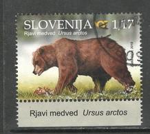 Sloveniê 2019, Yv  1159, Hogere Waarde,  Gestempeld - Slovénie