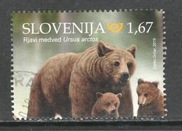 Sloveniê 2019, Yv  Uit Blok 117, Hoge Waarde,  Gestempeld - Slovénie