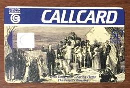 IRLANDE EIREANN TELECOM IRISH EMIGRANTS CARTE 50U SANS PUCE PHONECARD PAS TELECARTE CARD - Ierland