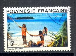 Timbre Oblitéré - OCEANIE - Polynésie Française - D'après SYLVAIN (2) - 5F - Oblitérés