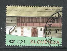 Sloveniê 2019, Yv  ???? Uit Blok, Hoge Waarde,gestempeld - Slovénie