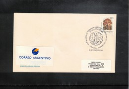Argentina 1994 Argentinian Antarctica Base Orcadas Interesting Cover - Forschungsstationen