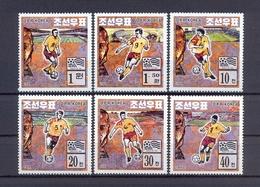North Korea/DPR Korea 1994 - FIFA Football World Cup USA - Stamps 6v - Complete Set - MNH** Excellent Quality - Corée Du Nord