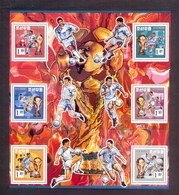 North Korea/DPR Korea 1994 - FIFA Football World Cup USA - 6 Minisheets - Complete Set - MNH** Excellent Quality - Corée Du Nord
