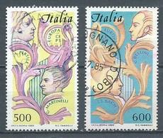Italie YT N°1664/1665 Europa 1985 Année Européenne De La Musique Oblitéré ° - Europa-CEPT