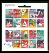 NEDERLAND *  NVPH V 3236 - 3255 * KERST * CHRISTMAS * NOEL * BLOK * BLOC * BLOCK * NETHERLANDS * GEBRUIKT - 2013-... (Willem-Alexander)