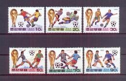 North Korea/DPR Korea 1993 - FIFA Football World Cup USA 1994 - Stamps 6v - Complete Set - MNH** Excellent Quality - Corée Du Nord