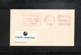 Argentina 1995 Argentinian Antarctica Base Orcadas Interesting Cover - Forschungsstationen