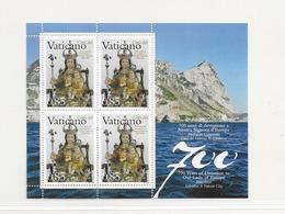2009 MNH Vaticano Mi 1637 Kleinbogen - Blocs & Feuillets