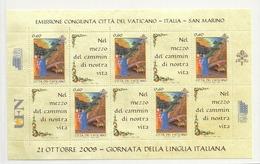 2009 MNH Vaticano Mi 1653 Kleinbogen - Blocs & Feuillets