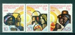 Allemagne - RDA 1975 - Y & T N. 1702A - Année Internationale De La Femme (Michel N. 2019/21) - Nuevos