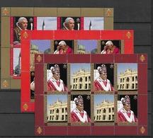 2007 MNH Vaticano Mi 1573-5 - Blocs & Feuillets