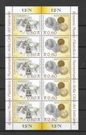 2007 MNH Vaticano Mi 1590-91 - Blocs & Feuillets