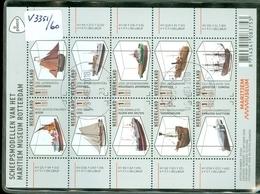 NEDERLAND * BLOK NVPH V.3351 - 3360 * SHIPS MUSEUM  * BLOCK * BLOC * POSTFRIS GESTEMPELD - 2013-... (Willem-Alexander)