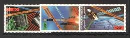 Djibouti 1985 Yvert Pa 219/221 **  Telecom - Djibouti (1977-...)