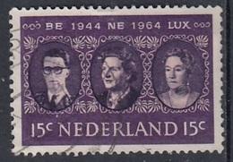 NETHERLANDS 829,used - 1949-1980 (Juliana)