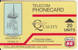 "SCOTLAND(Autelca) - Maureen A""/Phillips Petroleum Co., IPL(Scotland) Telecard 20 Units(blue Logo On Reverse), Used - Phonecards"