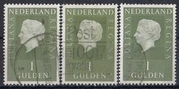 NETHERLANDS 914,used,falc Hinged - 1949-1980 (Juliana)