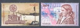 Norvege Norway 2005 Yvert 1493/1494 ** Telecom - Telegraphe - Telegraph - Norvège