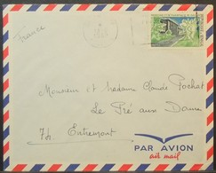 Senegal - Cover To France 1969 Medicine Pharmacy University 30F Solo - Senegal (1960-...)