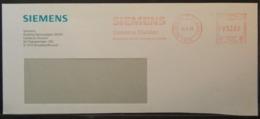 Belgium - Advertising Meter Franking Cover EMA 1999 Logo Siemens - Franking Machines