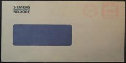Belgium - Advertising Meter Franking Cover EMA 1994 St. Gilles Siemens B7189 - Franking Machines
