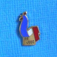 1 PIN'S //  ** FÉDÉRATION FRANÇAISE De JUDO ** . (A.B.) - Judo