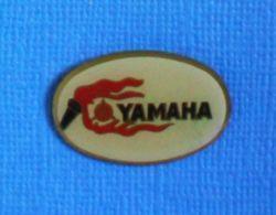 1 PIN'S //  ** LOGO / MOTO YAMAHA ** - Motorfietsen
