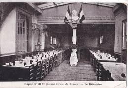 CPA  Toulouse (31) Hopital N° 31 Bis Du Grand Orient De France  Le Réfectoire Durant La Guerre De 14 - Religions & Beliefs