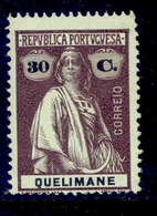 ! ! Quelimane - 1914 Ceres 30 C - Af. 37 - MH - Quelimane