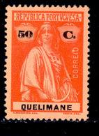 ! ! Quelimane - 1914 Ceres 50 C - Af. 39 - MH - Quelimane