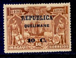 ! ! Quelimane - 1913 Vasco Gama On Macau 10 C - Af. 15 - MH - Quelimane