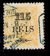 ! ! Zambezia - 1903 D. Carlos OVP 115 R - Af. 33 - Used - Zambèze