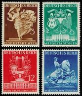 Scott 502-505   3pf Fashion Allegory 6pf Vienna Fair Hall 12pf 'Burgtheater' And 25pf Monument To Prince Eugene Vi... - Nuevos