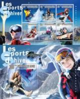 Guinea, 2010. [gu10206] Winter Sports (s\s+block) - Wintersport (Sonstige)