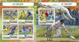 Guinea, 2016. [gu16517] Sports, Cricket (s\s+block) - Cricket
