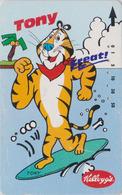 TC JAPON / 110-011 - KELLOGG'S CORN FLAKES - Animal - TIGRE & SKATEBOARD  - TIGER & FOOD JAPAN Pc Kellog's - 31 - Alimentación