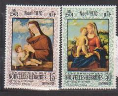 NOUVELLES HEBRIDES            N° YVERT    300/301  NEUF SANS CHARNIERES     ( Nsch 02/ 25 ) - French Legend